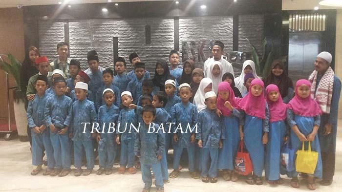 Perdana, Eska Hotel Berbagi Bersama Anak-Anak Yatim di Bulan Ramadan