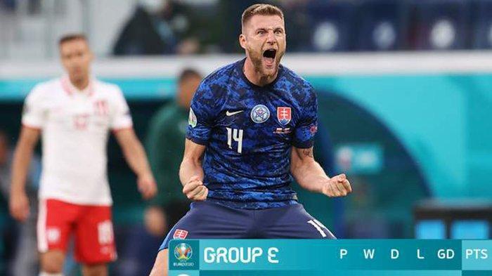 Hasil, Klasemen, Top Skor Piala Eropa 2020 Setelah Polandia Kalah, Spanyol Imbang