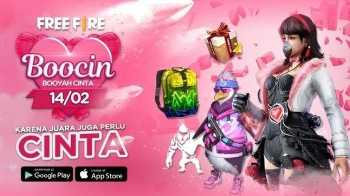 Garena Hadirkan Event Spesial Valentine di Setiap Gamenya, Skin Karakter di Free Fire