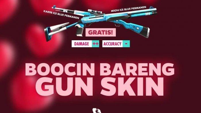 Event Valentine Free Fire, CODM, dan PUBG Mobile, Dapatkan Karakter hingga Skin Senjata Gratis