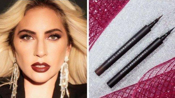 Lady Gaga Merilis Eyeliner Stiker pada Brand Makeup Terbarunya, Berminat? Segini Harganya