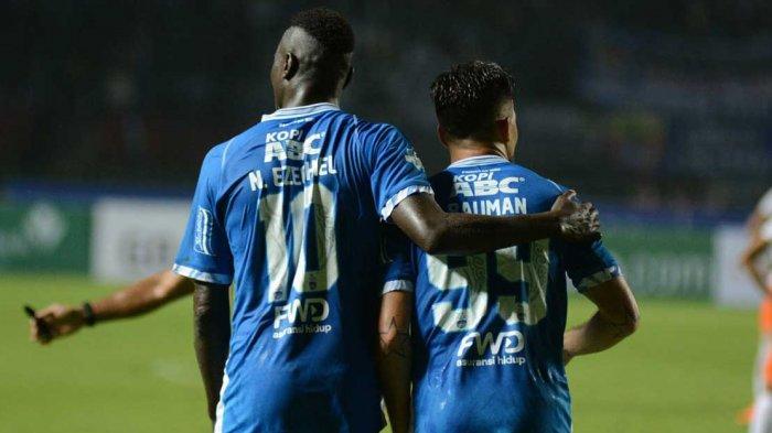 Transfer Liga 1 2020 - Akan Ada Duet Persib 2018 Ezechiel - Bauman di Arema FC? Ini Sinyalnya