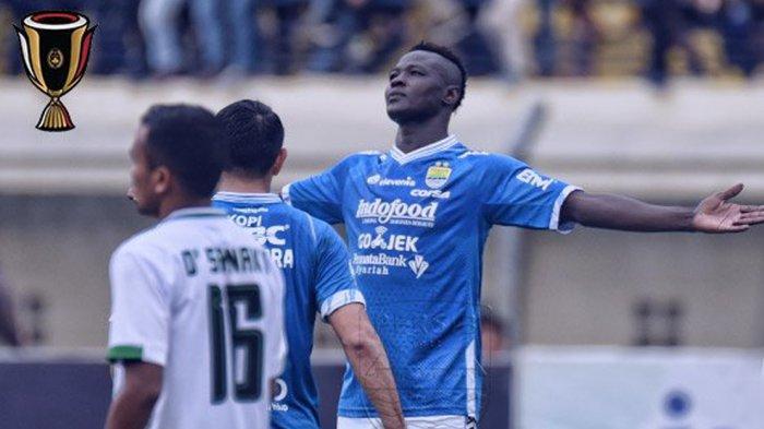 Persib Bandung vs Semen Padang, Ezechiel N Douassel Tak Sabar Akhiri Paceklik Gol di Liga 1 2019