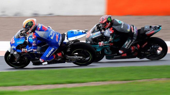Jadwal MotoGP Valencia 2020, Fabio Quartararo Akui Kehebatan Dup Suzuki Ecstar: Mereka Sangat Cepat