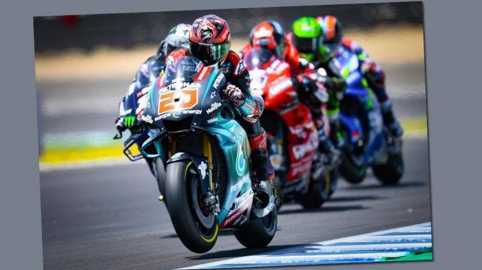 MOTOGP 2019 - Peraih Pole Position GP Spanyol Catat Waktu Tercepat Test Jerez, Valentino Rossi No 17