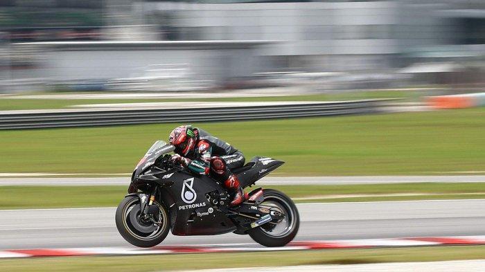 MotoGP 2020 - Hasil Test MotoGP Sepang Minggu Pagi; Fabio Quartararo Tercepat, Rossi 5, Marquez 12