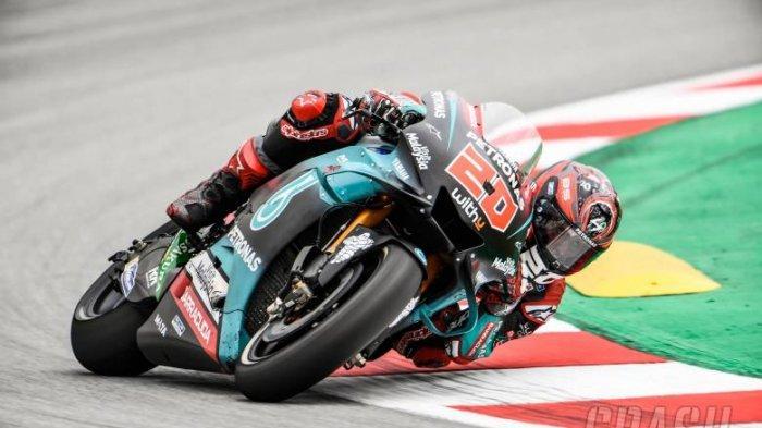 Hasil FP2 MotoGP Catalunya - Fabio Quartararo Menggila Lagi, Bagaimana Sang Guru Valentino Rossi?