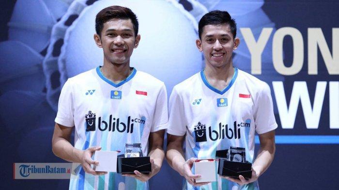 Hasil Final Swiss Open 2019, Fajar Alfian/Muhammad Rian Ardianto Menang Indonesia Raih 1 Gelar Juara