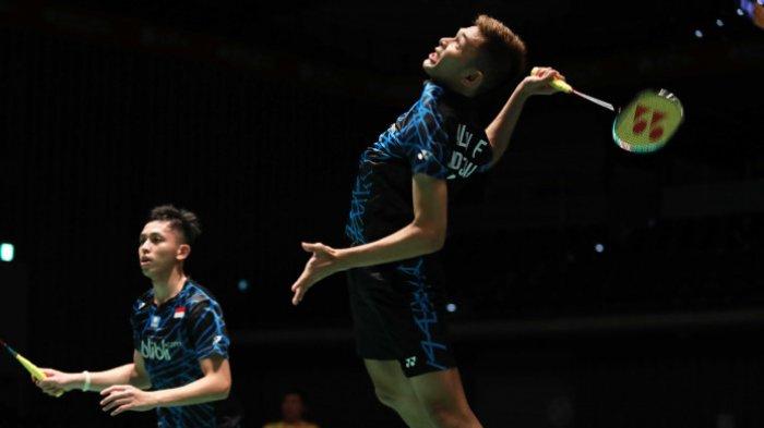 Hasil Fuzhou China Open 2018 - Ganda Putra Fajar/Rian Kalah. Fajar: Lawan Unggul Power