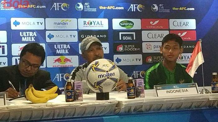 Fakhri Husaini Pamitan Usai Bawa Timnas U-19 Indonesia Lolos ke Piala Asia U-19 2020