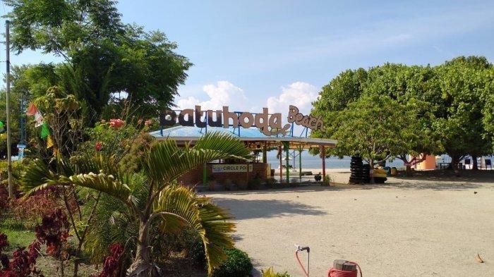 Fasilitas di wisata Pantai Hoda, wisatawan tak perlu khawatir