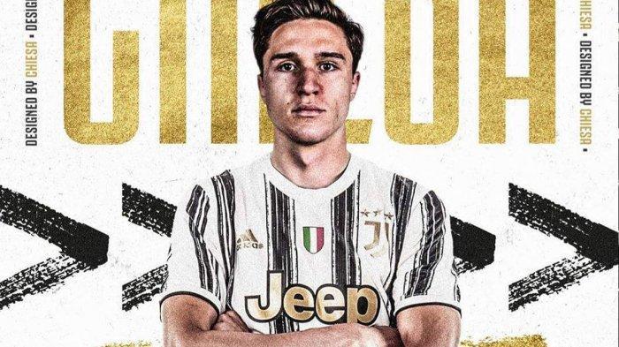 Federico Chiesa pemain baru Juventus dari Fiorentina