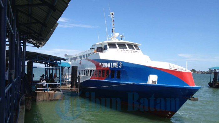 MUDIK Natal, Dumai Line dan Dumai Ekspres Berangkatkan 4 Kapal dari Sekupang Batam