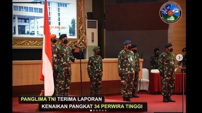 Daftar Pati TNI Naik Pangkat, 9 Anak Buah Jenderal Andika Perkasa Sandang Bintang 2