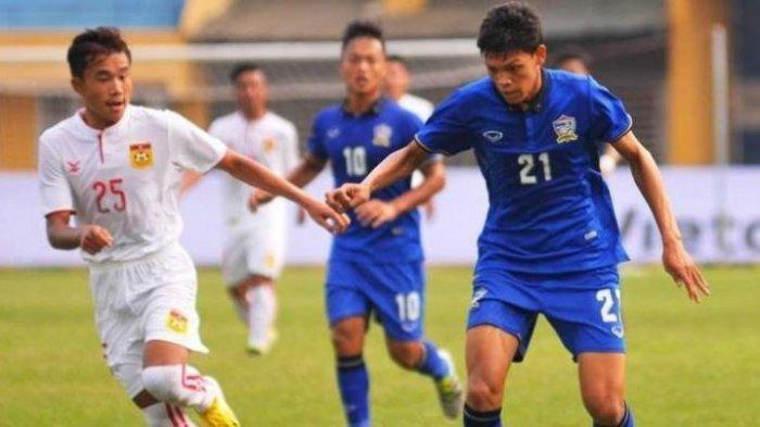 Hasil Kamboja vs Thailand di Babak Pertama Semifinal Piala AFF U22 2019, Skor Masih Imbang 0-0