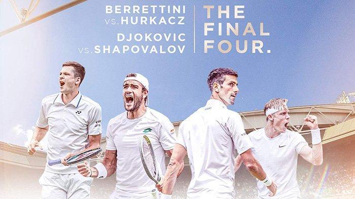 Hasil dan Jadwal Wimbledon 2021, Roger Federer Kalah, Novak Djokovic Menang & Laju ke Semifinal