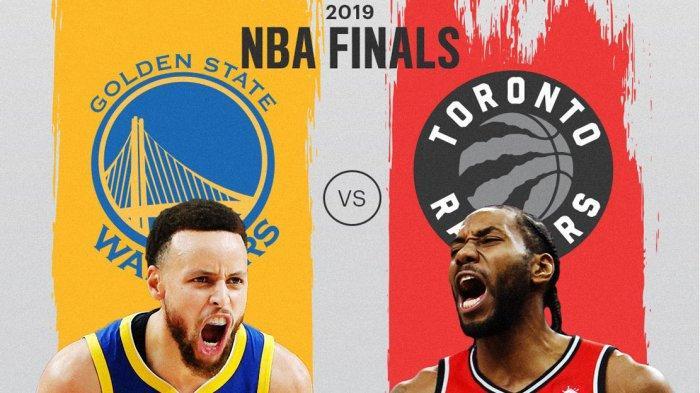 Hasil Final NBA Game 2, Golden State Warriors Kalahkan Raptors 109-104, Skor Kini Imbang 1-1