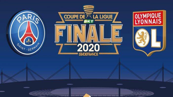 Jadwal Piala Liga Perancis PSG vs Olympique Lyon Pukul 02.10 WIB, Gelar Keempat Neymar Cs?