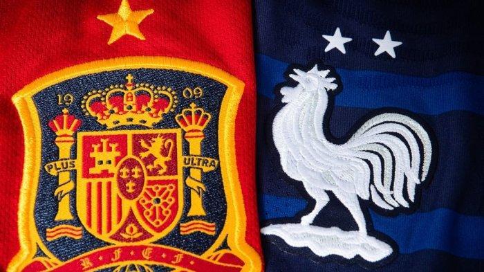Prediksi & Link Live Streaming Spanyol vs Prancis, Kick Off 01.45 WIB via TV Online