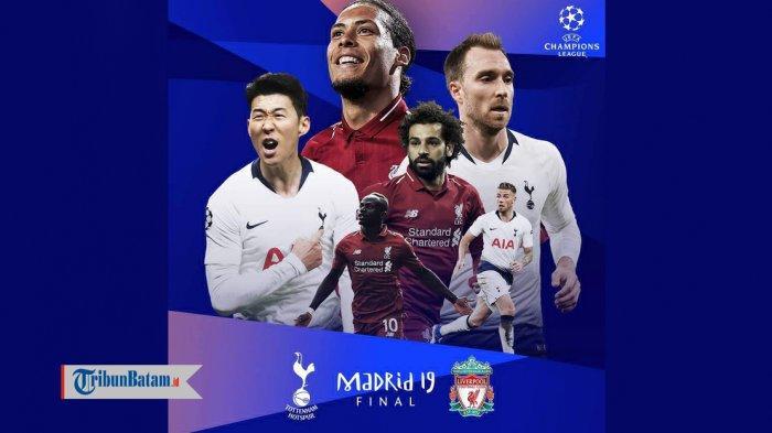 Jadwal Final Liga Champions Liverpool vs Tottenham Hotspur & Catatan Skor Kedua Tim Hingga Semifinal