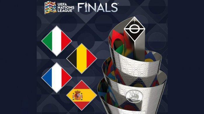Finals Four UEFA Nations League 2020/2021: Italia, Perancis, Belgia, Spanyol, Siapa Juara?