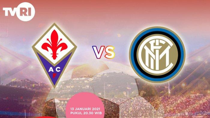 Live Streaming TVRI Fiorentina vs Inter Milan, Antonio Conte Serius