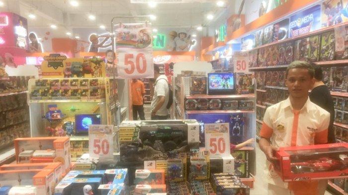 Toko Mainan Toys Kingdom Grand Batam Mall Diskon Hingga 50 Persen, Banyak Mainan Terbaru Lho