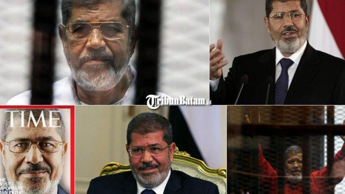 Detik-detik Mantan Presiden Mesir Muhammad Mursi Roboh di Pengadilan, Lalu Meninggal Dunia