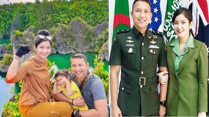Berpenampilan Sederhana Tapi Menawan, Begini Aktivitas Artis Ini yang Dinikahi Perwira TNI