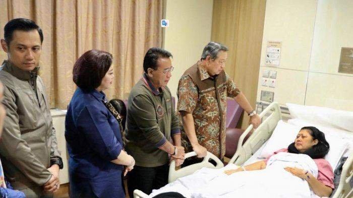 Pernyataan Resmi SBY Soal Ani Yudhoyono Sakit Kanker Darah di Singapura