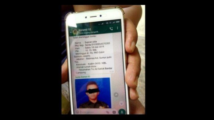 Penyebar Hoax Anggota TNI Meninggal Kini Diburu, RSPAD Bakal Lapor Polisi