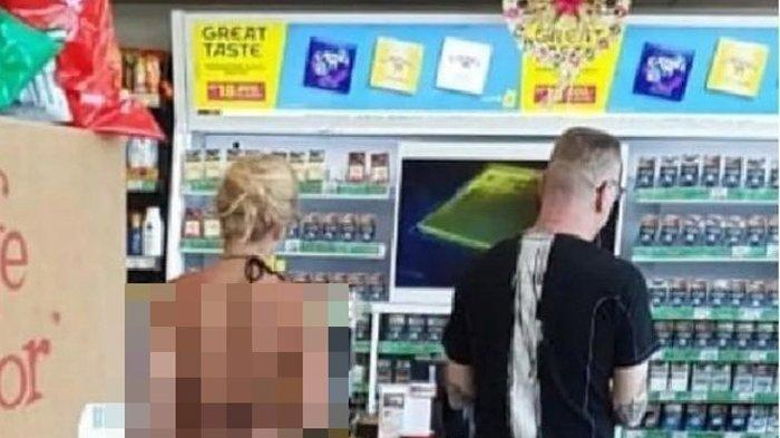 Viral VIDEO Turis Kenakan Bikini Super Minim Berbelanja di Minimarket, Tersebar di Facebook dan WA