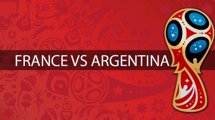 Jadwal Piala Dunia 2018 Malam Ini Perancis vs Argentina. Live Trans TV Pukul 21.00 WIB