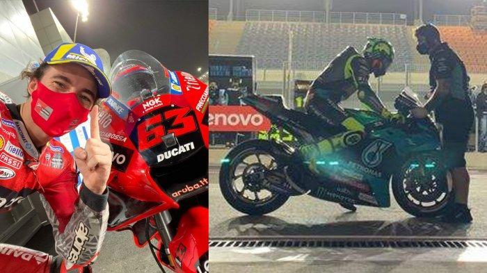 Live Streaming Trans7 Siaran Langsung MotoGP Qatar 2021 Pukul 01.10 WIB, Valentino Rossi Podium?