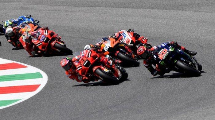 MotoGP Catalunya 2021 Live Trans7 Pukul 18.00 WIB, Bagnaia Siap Duel dengan Fabio Quartararo
