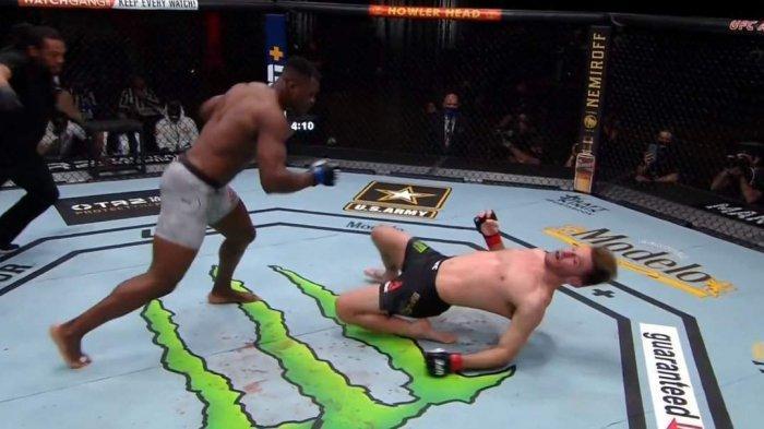 Hasil UFC 260, Francis Ngannou Juara Baru Kelas Berat, Jamie Mullarkey Menang KO dalam 40 Detik