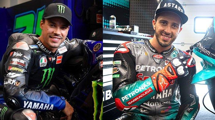 MotoGP San Marino FP1 14.55 WIB, Debut Morbidelli di Yamaha, Dovizioso di Petronas