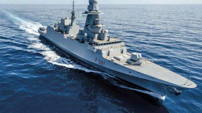 Prabowo Subianto Datangkan Kapal Perang Fregat Buatan Italia, Dilengkapi Senjata Anti Kapal Selam
