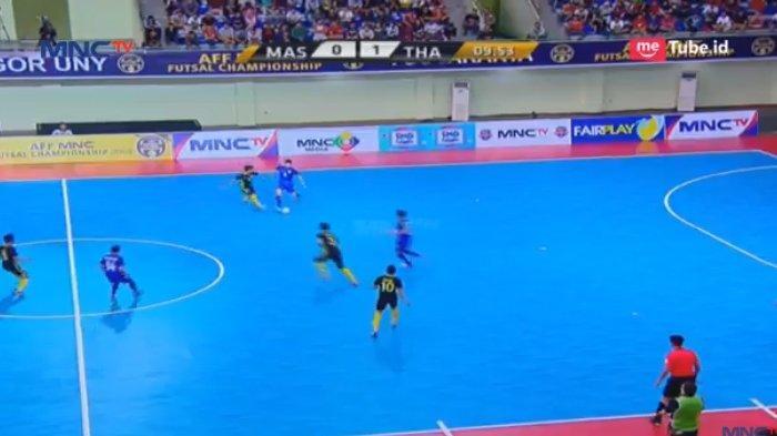 SEDANG BERLANGSUNG! Thailand vs Malaysia di Final Piala AFF Futsal 2018 - Skor Sementara 1-1