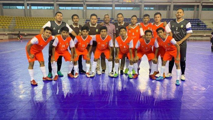 Preparation for PON XX Papua, Kepri Futsal Team Clean Up Four Trials
