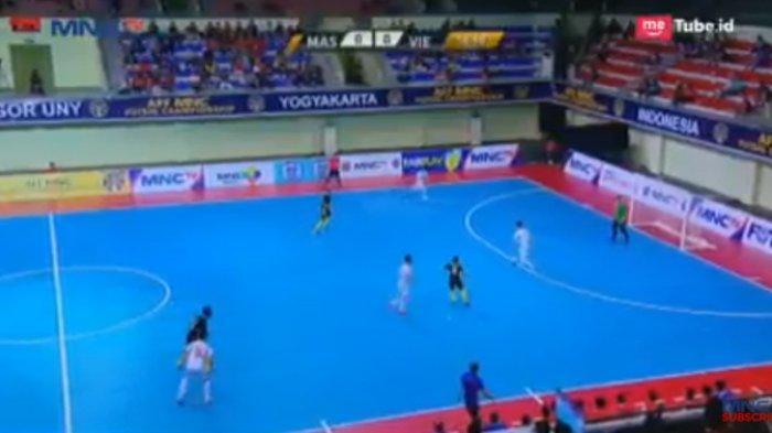 SEDANG BERLANGSUNG! Malaysia vs Vietnam di Semifinal Piala AFF Futsal 2018, Jumat Sore Ini