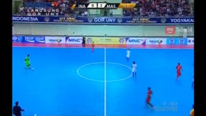 SEDANG BERLANGSUNG! Indonesia vs Malaysia di Piala AFF Futsal 2018 - Indonesia Tertinggal 1-3
