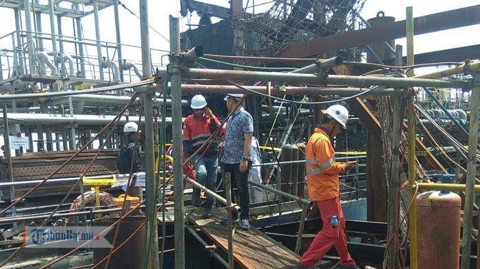 Industri Galangan Kapal PT MOS, Provinsi Kepri.