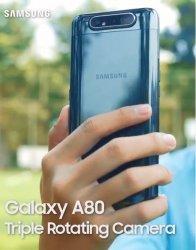 Triple Rotating Kamera Pada Galaxy A80, Smartphone Serba Pertama Dari Samsung