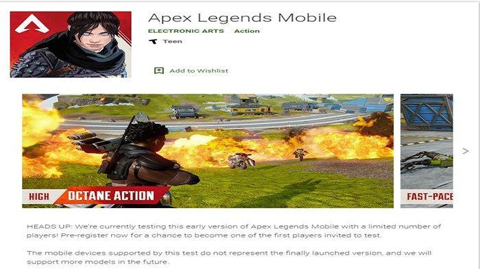Apex Legends Mobile Rilis di Indonesia, Lakukan Prapendaftaran Sekarang untuk Android