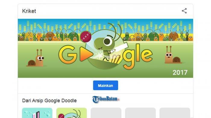 Cara Main Game Google Doodle Hari Ini, Game Oskar Fischinger, Game Coding atau Game Cricket