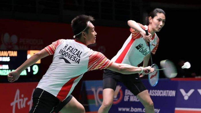 Hasil Thailand Masters 2020 - Tersisa Ganda Campuran, Indonesia Taruh Harapan pada Hafiz/Gloria