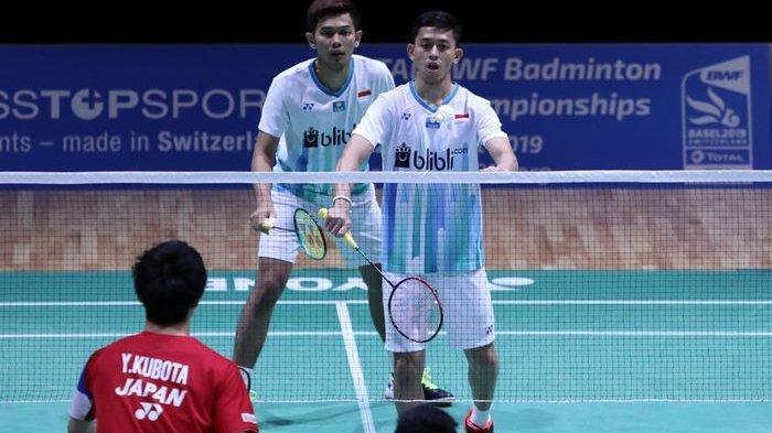 SWISS OPEN 2019 - Jadwal dan Link Live Streaming Swiss Open 2019, Derby Indonesia di Ganda Putra