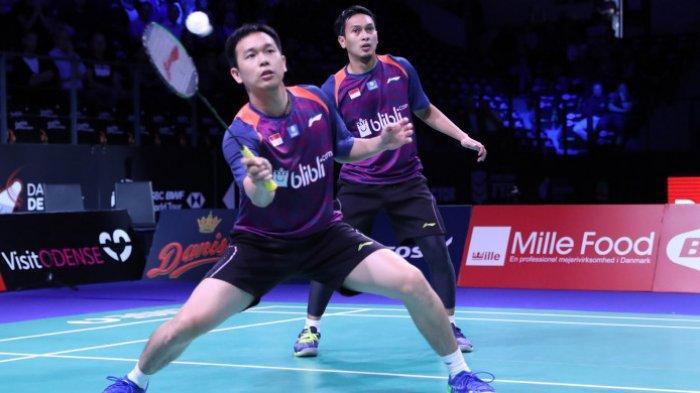 Hasil Malaysia Masters 2020 - Ahsan/Hendra Tekuk China, 3 Wakil Indonesia Lolos ke Babak Kedua