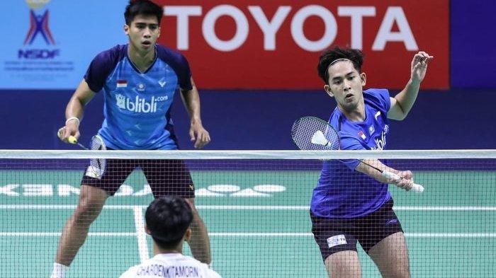 Hasil Thailand Master 2020, Tiga Ganda Putra Indonesia ke Babak 2 Kualifikasi, 2 Saling Berhadapan